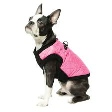 Gooby Size Chart Gooby Fashion Quilted Dog Vest Pink
