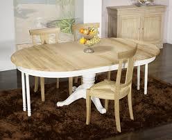 Table De Cuisine Ronde En Verre Pied Central Maison Design