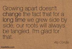 Growing Apart Quotes on Pinterest via Relatably.com