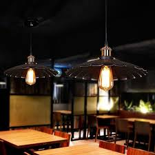 Creative Unique Pendant Lamp Industrial Retro Style Chandelier E27 For Home Restaurant Bar