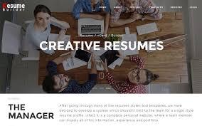 Resume Builder Script Wordpress Resume Builder Themes