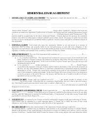 Blank Rental Agreement Nj Download Them Or Print