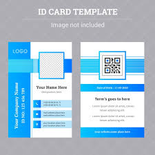 company id card templates corporate identity id card template design template for free
