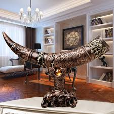 living room statues home design