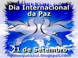 Resultado de imagem para dia internacional da paz