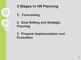 human resource management gaining a competitive advantage ppt 3 stages in hr planning 1 forecasting 2
