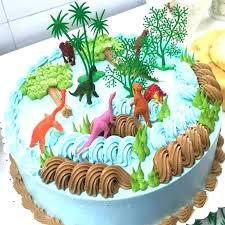 2019 Diy Jungle Dinosaur Cake Decorating Ornaments Creative Cake