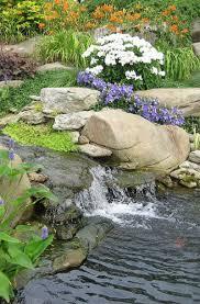37 backyard garden waterfall ideas
