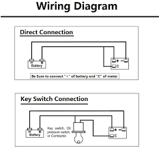 Battery Voltage Meter Wiring Diagram For Control Relay Wiring Diagram