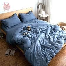 denim bedding set comforter denim blue grey white green solid bedding sets pure cotton duvet comforter