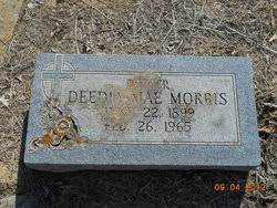 Deedia Mae Blankenship Morris (1899-1965) - Find A Grave Memorial