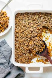 sweet potato casserole recipe. Fine Potato Sweet Potato Casserole With A Crunchy Brown Sugar Topping Wooden  Spoon In Recipe