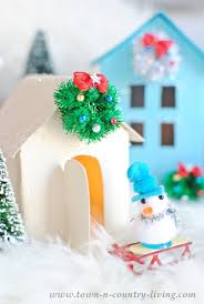 christmas house template christmas village free printable to make your own town