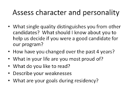 Why Would You Be A Good Candidate The Health Professions School Interview Ppt Download