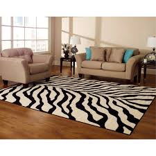 carpet at walmart. hometrends zebra carpet at walmart