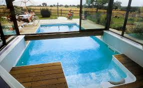 indoor outdoor pool house. Pool Half And Outside House Indoor Outdoor D