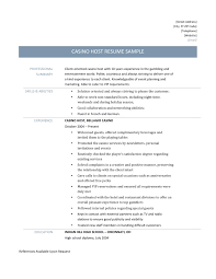 Hostess Resume Examples Mesmerizing Hostess Resume No Experience On Air Vip Host Sample 34