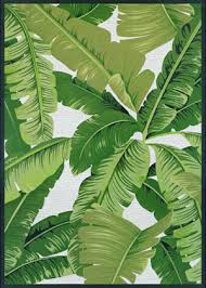 couristan dolce palm lily hunter green ivory area rug