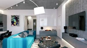 Stylish And Edgy Modern Loft Design In Grey And White