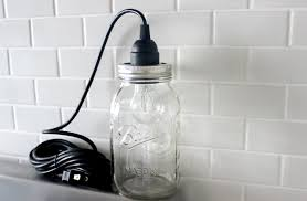Drop Lights For Kitchen Mason Jar Pendant Light Vintage Hanging Light Mason Jar