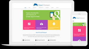 Google Site Templates Web Design With Google Sites Creating A Mobile Friendly Or