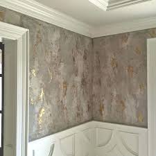 faux venetian plaster wallpaper dining room decorative plaster wall finish by gale of southern inspirations
