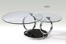 Superb C8041 Modern Round Glass Coffee Table Home Design Ideas