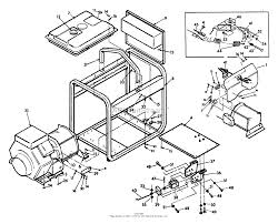 Briggs and stratton power products 9099 2 6 000 watt parts diagram