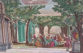 garden party 18th century pshow by martin engelbrecht antiquetoysandgames