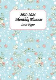 8x11 Calendar Pdf Download 2020 2024 See It Bigger Monthly Planner 8x11