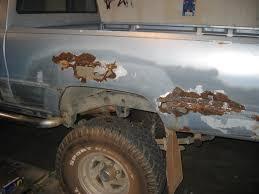Toyota Truck Bed Rust Repair