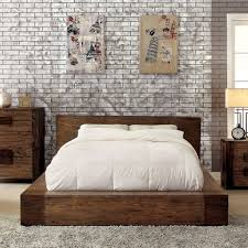 low profile bed. Fine Low Shop Pine Canopy Kalmia 3piece Natural Tone Low Profile Bedroom Set  Free  Shipping Today Overstockcom 21906789 And Bed F