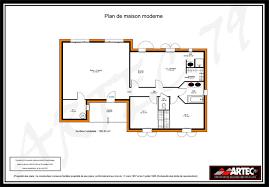 plan maison plain pied investist locatif plan maison moderne