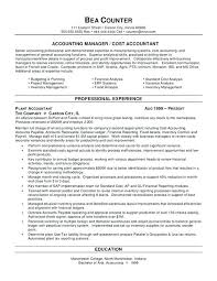 Sample Resume Of Accountant Branch Manager Resume Example Sample