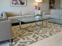 image of what size rug do you put under a sectional