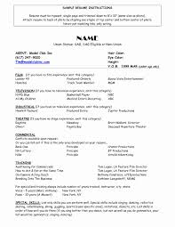 Free Resume Format Pdf Luxury Resume Models Sample Trend Model ...