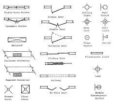 floor plan symbols electrical. Impressive Fluorescent Light Symbol Electrical 18 Floor Plan Symbols For B
