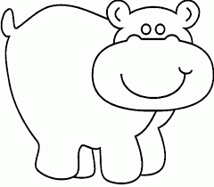 Small Picture Baby Hippo Coloring Pages Hippo Coloring Pages Baby Hippo Coloring