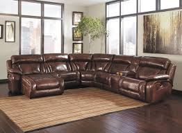 brown leather sectional couches. Impressive Leather Sofa Sectional In Couches Ordinary With Dark Brown Sectionals. S