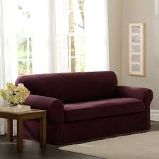 2 piece sofa slipcover serta stretch grid slipcover sofa 2 piece t cushion