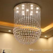 led chandelier modern simple style bedroom living room restaurant rectangular crystal chandeliers bar aisle pendant lamp 110v 220v 230v 240v chandelier with