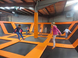 i talk to hannah 9 and ava 8 who went to bounce a new type of indoor trampoline park where you can let your children literally bounce off the walls