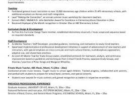 Professional Resume For Teachers For Free Professional Teacher
