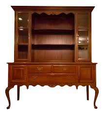 Chippendale China Cabinet Used Ethan Allen Furniture Favorites Chairish