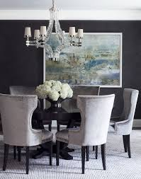 dining chairs patterned dining chairs with ring rooms transitional dining rooms secrets the best