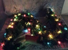 Bethlehem Lights Wreath Bethlehem Lights 6 Decorative Canterbury Plug In Garland Colored Qvc H209516