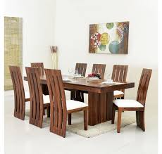 Nilkamal Kitchen Furniture Buy Delmonte 8 Seater Dining Kit Home Nilkamal Walnut Online