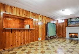 knotty pine basement to paint or not