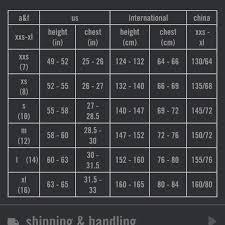 Abercrombie Size Chart Shorts Bedowntowndaytona Com