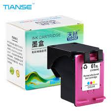 Online Shop TIANSE <b>2pk for HP</b> 61XL 61 XL Ink Cartridge HP61 61 ...
